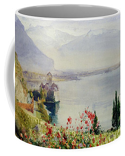 The Castle At Chillon Coffee Mug