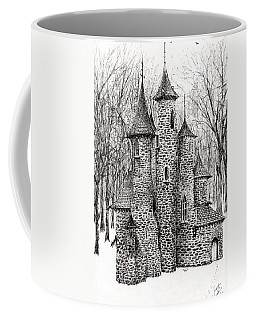 The Castle In The Forest Of Findhorn Coffee Mug