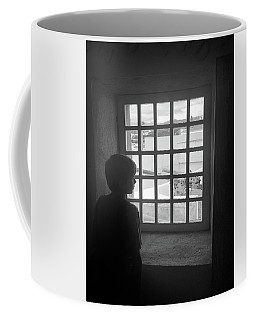 Coffee Mug featuring the photograph The Contrast Of War by Kelly Hazel