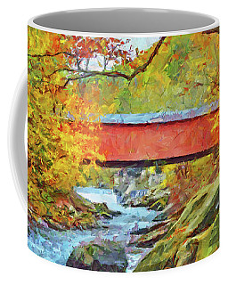 The Covered Bridge At Mcconnells Mill State Park Coffee Mug