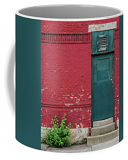 Coffee Mug featuring the photograph The Door by Brad Wenskoski