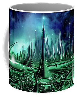 The Enneanoveum Coffee Mug by James Christopher Hill