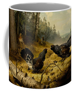 The Fighting Capercaillies Coffee Mug