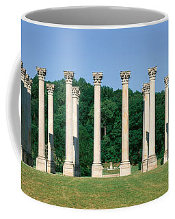 The First Capitol Columns Of The United Coffee Mug