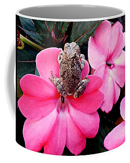 The Frog And The Flower Coffee Mug