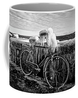 The Frozen Bike Coffee Mug