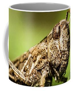 The Grasshopper Portrait Coffee Mug