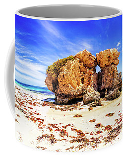 The Sentry, Two Rocks Coffee Mug by Dave Catley