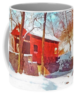 The Henry Bridge In Winter 2 Coffee Mug