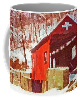 The Henry Bridge In Winter Coffee Mug
