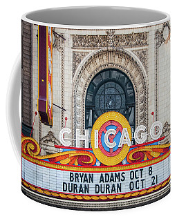 The Iconic Chicago Theater Sign Coffee Mug