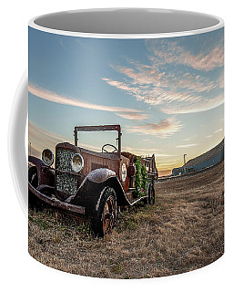 Coffee Mug featuring the photograph The Kress Truck by Scott Cordell