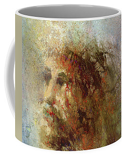 Coffee Mug featuring the painting The Lamb by Andrew King