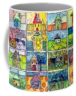 The Little Houses Coffee Mug