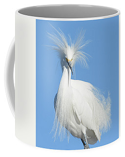 The Look Coffee Mug by Fraida Gutovich