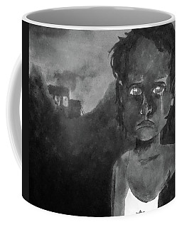 Coffee Mug featuring the digital art The Lost Children Of Aleppo by Joseph Hendrix