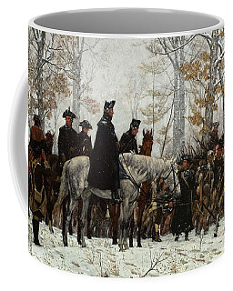 The March To Valley Forge Coffee Mug