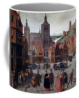 The Marketplace In Bergen Op Zoom Coffee Mug
