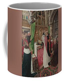The Mass Of Saint Giles Coffee Mug by Master of Saint Giles
