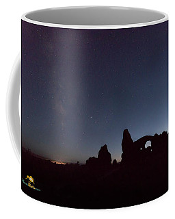 Coffee Mug featuring the photograph The Milky Way by Jim Thompson