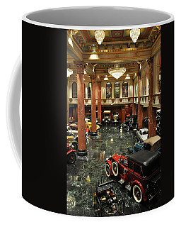 Grand Salon At The Nethercutt Coffee Mug by Kyle Hanson