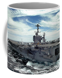 The Nimitz-class Aircraft Carrier Uss Coffee Mug