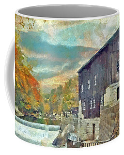 The Old Mill At Mcconnells Mill State Park Coffee Mug