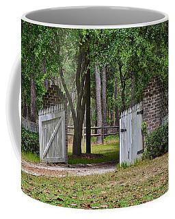 The Open Gate Coffee Mug by Linda Brown