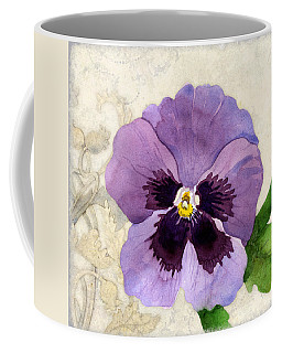 The Promise Of Spring - Pansy Coffee Mug