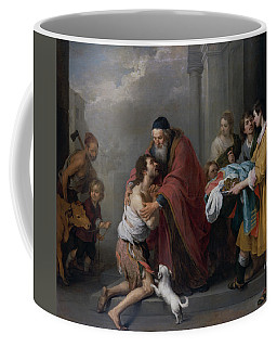 Coffee Mug featuring the painting The Return Of The Prodigal Son by Bartolome Esteban Murillo