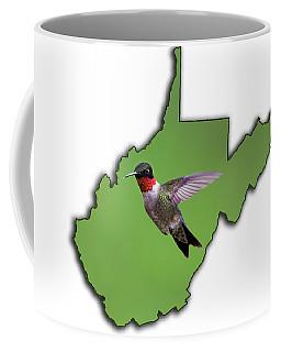 The Ruby-throated Hummingbird Coffee Mug