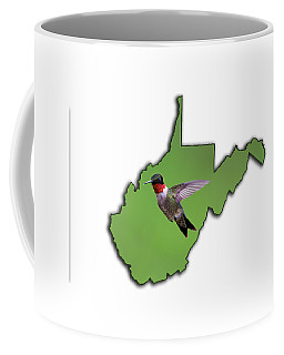 The Ruby-throated Hummingbird Coffee Mug