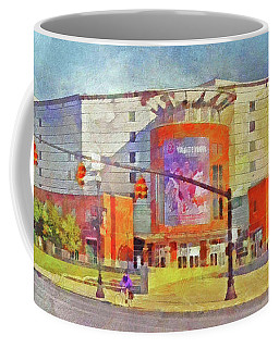 The Schottenstein Center.  The Ohio State University Coffee Mug