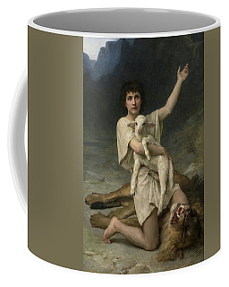 The Shepherd David Triumphant Coffee Mug