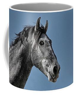 The Stallion Coffee Mug by Michael Mogensen