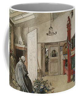 The Studio. From A Home Coffee Mug by Carl Larsson