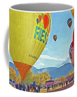 The Taos Mountain Balloon Rally 5 Coffee Mug