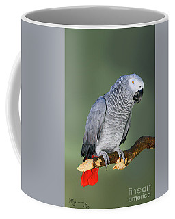 Thinking It Over Coffee Mug by Mariarosa Rockefeller