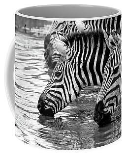 Thirsty Zebras Coffee Mug