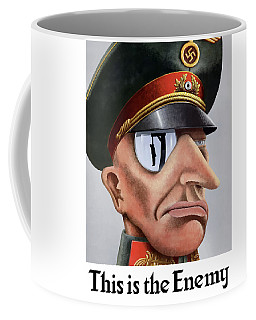 This Is The Enemy - Ww2 Poster Coffee Mug