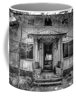 Coffee Mug featuring the photograph This Old House by Mike Eingle