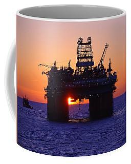 Thunder Horse At Sunset Coffee Mug