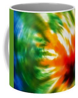 Tie Dyed Coffee Mug by Cathy Donohoue
