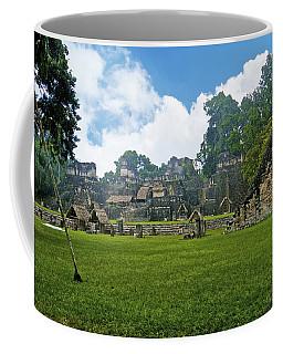 Tikal, Guatemala Coffee Mug by Marius Sipa