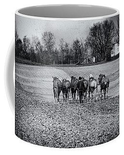 Tilling The Fields Coffee Mug