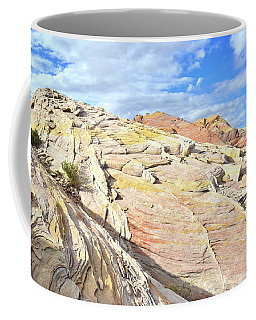 Top Of The World At Valley Of Fire Coffee Mug