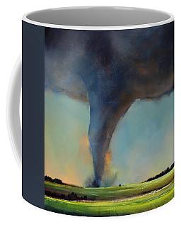 Tornado On The Move Coffee Mug