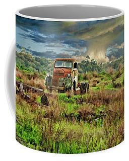 Tornado Truck Coffee Mug