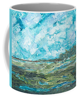 Toward Pinckney Island Coffee Mug