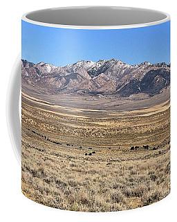 Trailing Cattle Coffee Mug